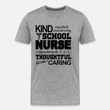 Male Nurse Proud School Nurse Shirt - Men's Premium T-Shirt