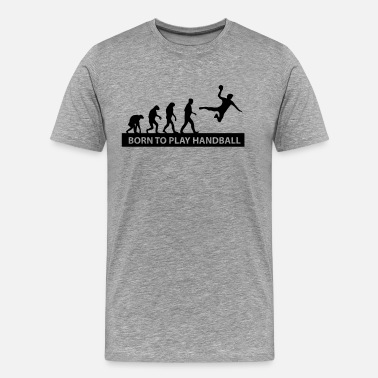 Handball Kids born to play handball - Men's Premium T-Shirt