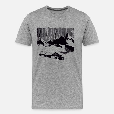Tyrol Mountain Village - Men's Premium T-Shirt