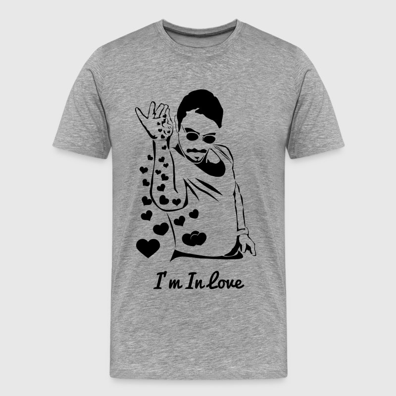 Salt Bae NUSRET Love - Men's Premium T-Shirt