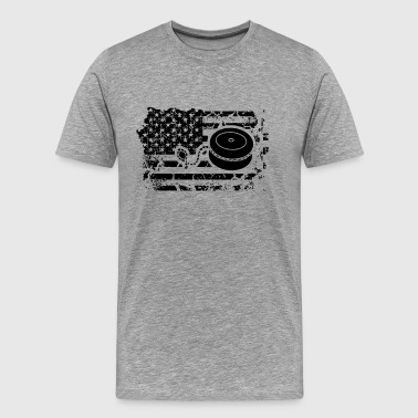 Burn This Flag Yo Yo Flag Shirt - Men's Premium T-Shirt