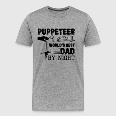 Puppeteer Dad Shirt - Men's Premium T-Shirt