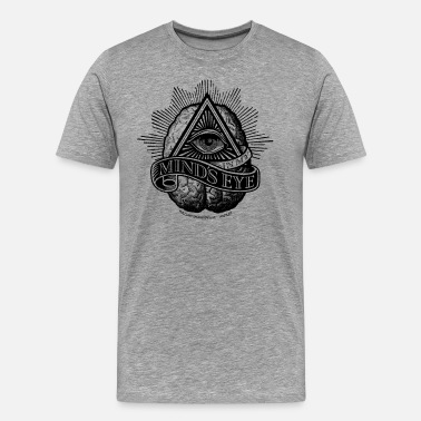 Witty Eyes In My Mind's Eye - Men's Premium T-Shirt