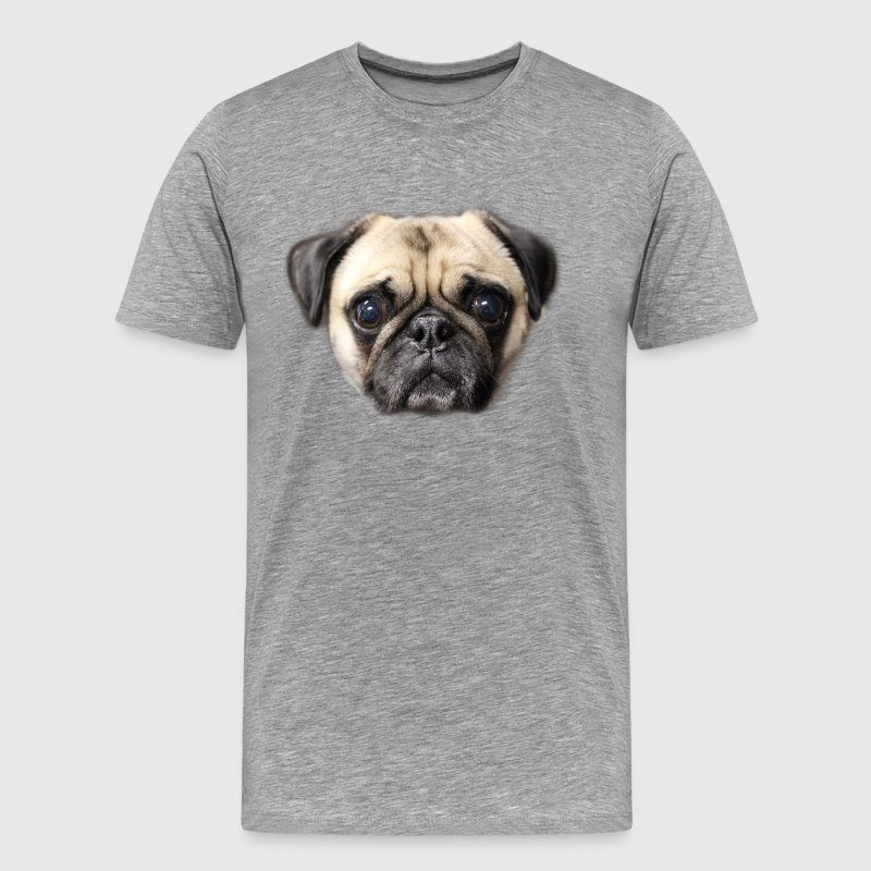 Pug Face T Shirt - Men's Premium T-Shirt