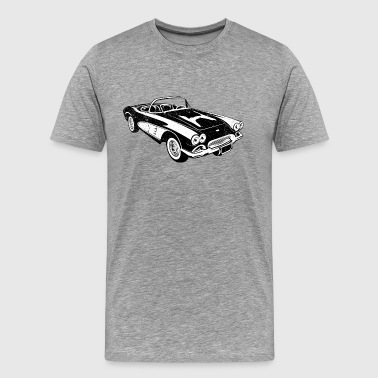 1961 Chevrolet Corvette - Men's Premium T-Shirt