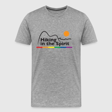 Spiritual Activism Hiking in the Spirit - Men's Premium T-Shirt
