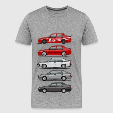 Romeo Stack of Alfa 75 Milano Tipo 161 - Men's Premium T-Shirt
