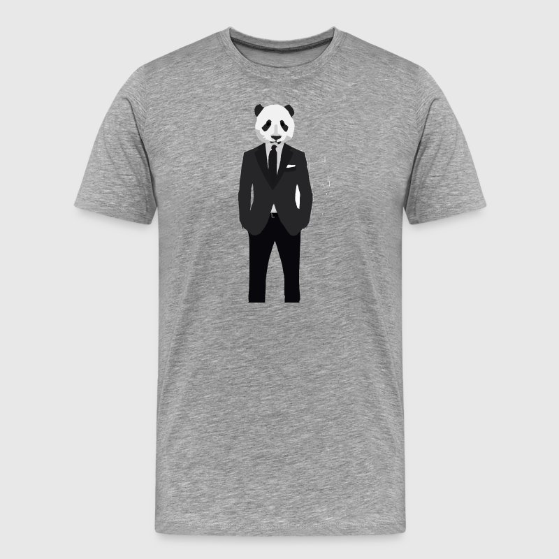 Panda In A Suit - Men's Premium T-Shirt
