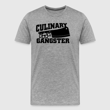 Culinary Gangster Chef - Men's Premium T-Shirt
