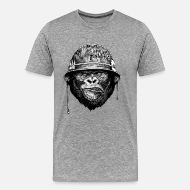 Black And White Collection The Imposter Man - Men's Premium T-Shirt