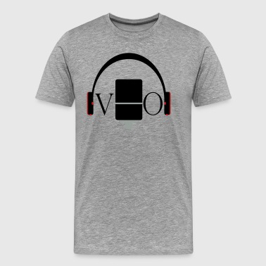 Mic and Headphone for VO - Men's Premium T-Shirt