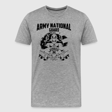Army National Guard shi - Men's Premium T-Shirt