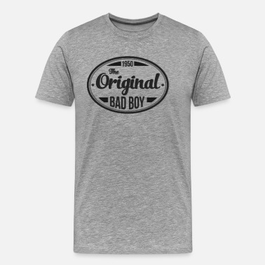 65th Birthday Birthday 1950 Original Bad Boy Vintage Classic - Men's Premium T-Shirt