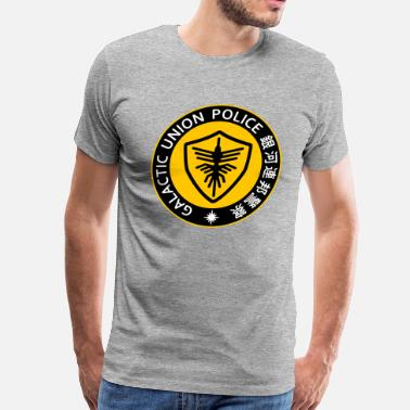 b90351d9a Kamen Rider Space Sheriff Gavan Galactic Union Police YELLOW - Men's  Premium T-Shirt