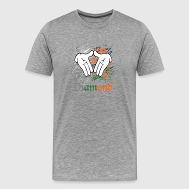 diamond hands - Men's Premium T-Shirt