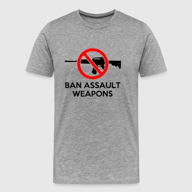Ban Assault Weapons - Men's Premium T-Shirt