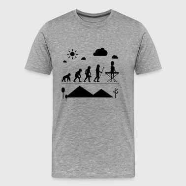 Synthesizer Evolution Shirt - Men's Premium T-Shirt
