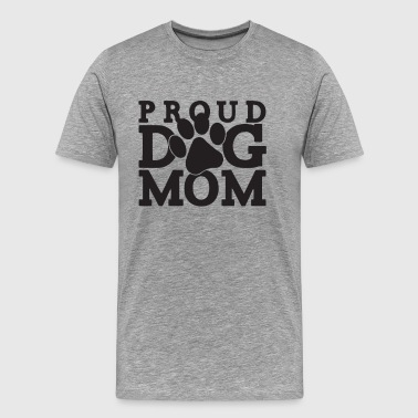 Proud Dog Mom - Men's Premium T-Shirt