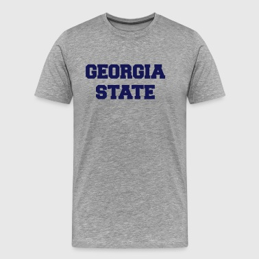 georgia state - Men's Premium T-Shirt