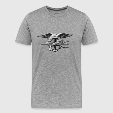 US Navy Seal Team VI Grey - Men's Premium T-Shirt