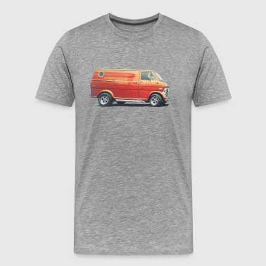 1970s Custom Van - Men's Premium T-Shirt