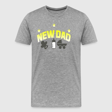 New Dad 2018 New Dad - Men's Premium T-Shirt