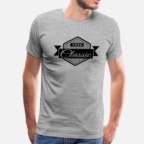 eb05074e2 ... Birthday 1950 Classic Vintage Edition - Men's Premium T-Shirt. Do you  want to edit the design?