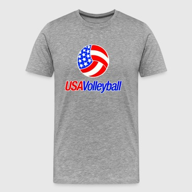 Team USA Volleyball - Men's Premium T-Shirt
