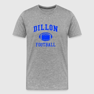 Panthers Softball Dillon Football - Men's Premium T-Shirt