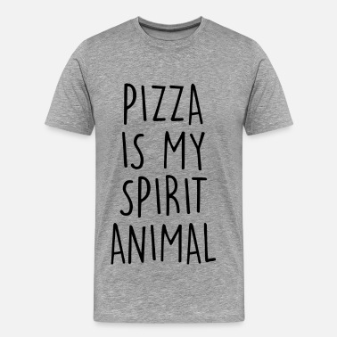 My Spirit Animal Is Pizza PIZZA IS MY SPIRIT ANIMAL - Men's Premium T-Shirt