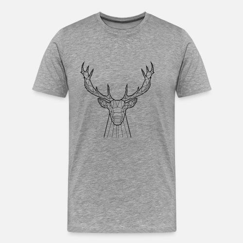 d3f70c35c7 Black Deer - Animal Prism Men s Premium T-Shirt