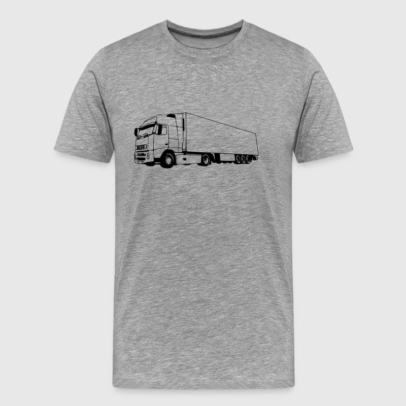 truck / lorry (1 color) - Men's Premium T-Shirt