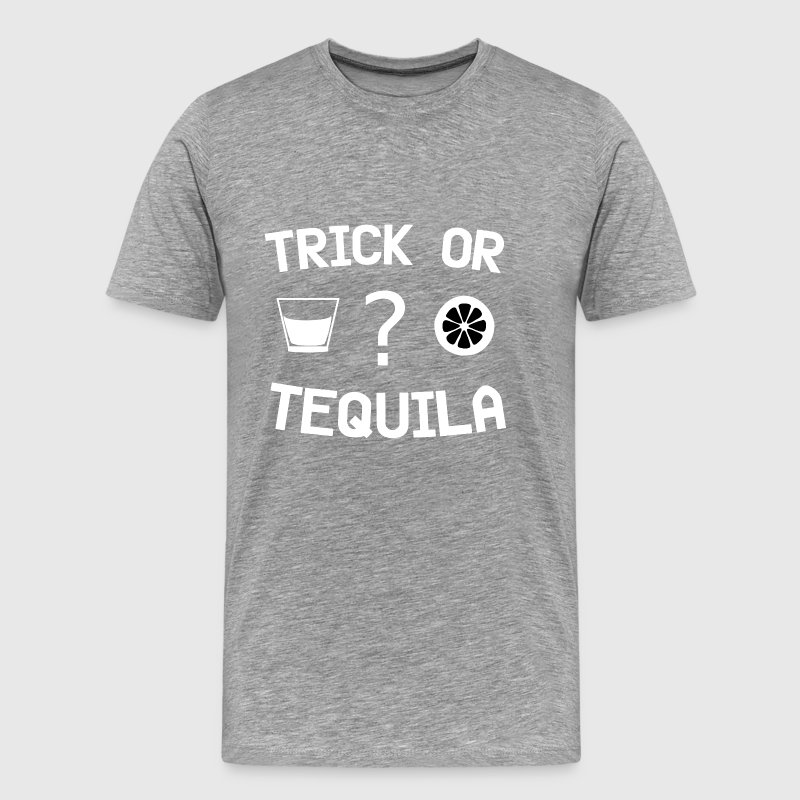 trick or tequila Halloween Costume - Men's Premium T-Shirt