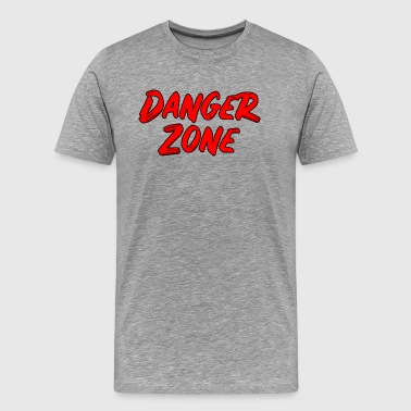 Drop Zone Danger Zone - Men's Premium T-Shirt