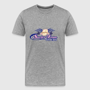 SURFER TEAM EXTREME GIRL - Men's Premium T-Shirt
