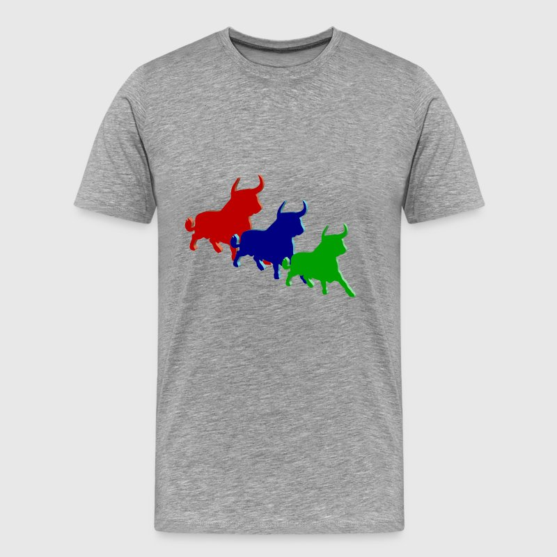 three bulls - Men's Premium T-Shirt