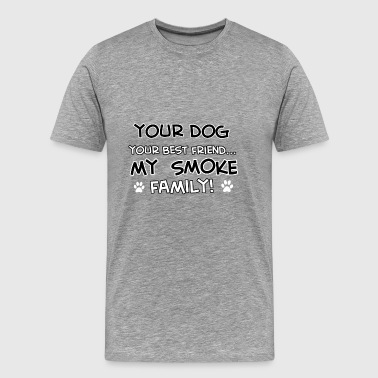 SMOKE - Men's Premium T-Shirt