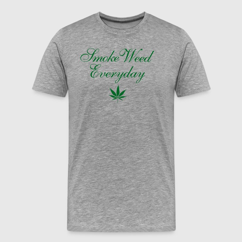 Smoke Weed Everyday Marijuana T-Shirt - Men's Premium T-Shirt