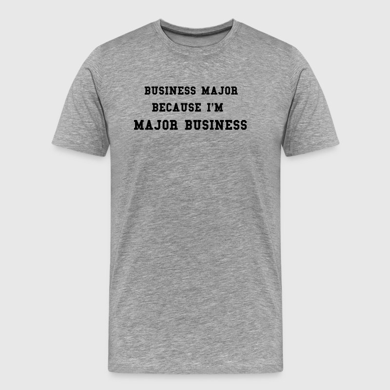 BUSINESS COLLEGE - Men's Premium T-Shirt