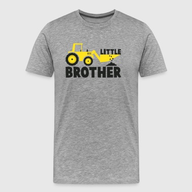 Little Brother Tractor Loving - Men's Premium T-Shirt