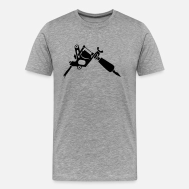 Tattoo Gun Tattoo - Men's Premium T-Shirt