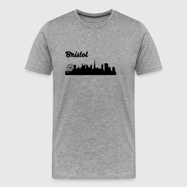 Bristol Skyline - Men's Premium T-Shirt