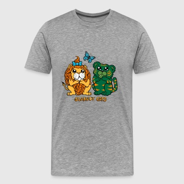 Scaredy Cats - Men's Premium T-Shirt