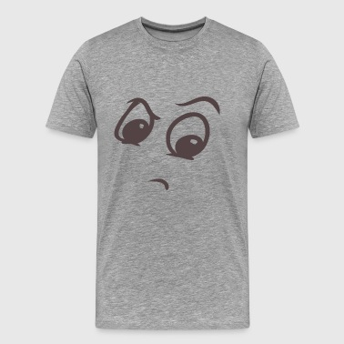 Snob face - Funny face - Men's Premium T-Shirt