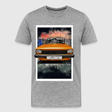retro car - Men's Premium T-Shirt