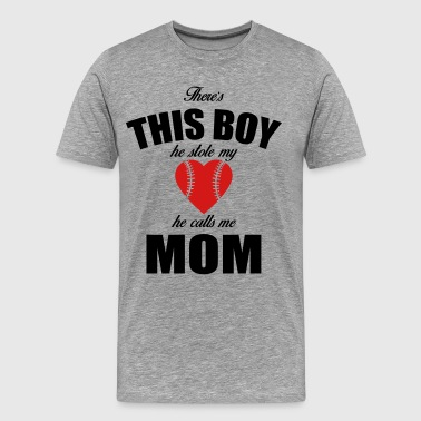 there's this boy he stole - Men's Premium T-Shirt
