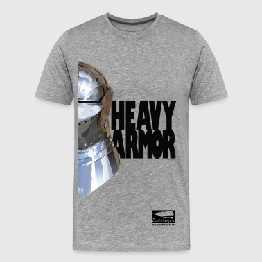 Medieval Sports Wear Heavy Armor Bansheegraphics - Men's Premium T-Shirt