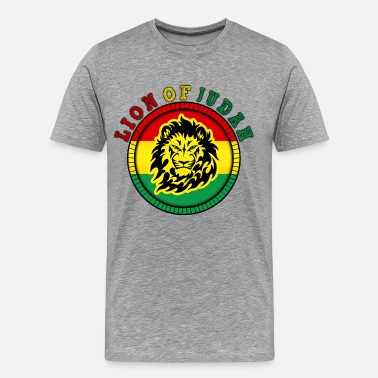 Reggae Lion Of Judah lion of judah - Men's Premium T-Shirt