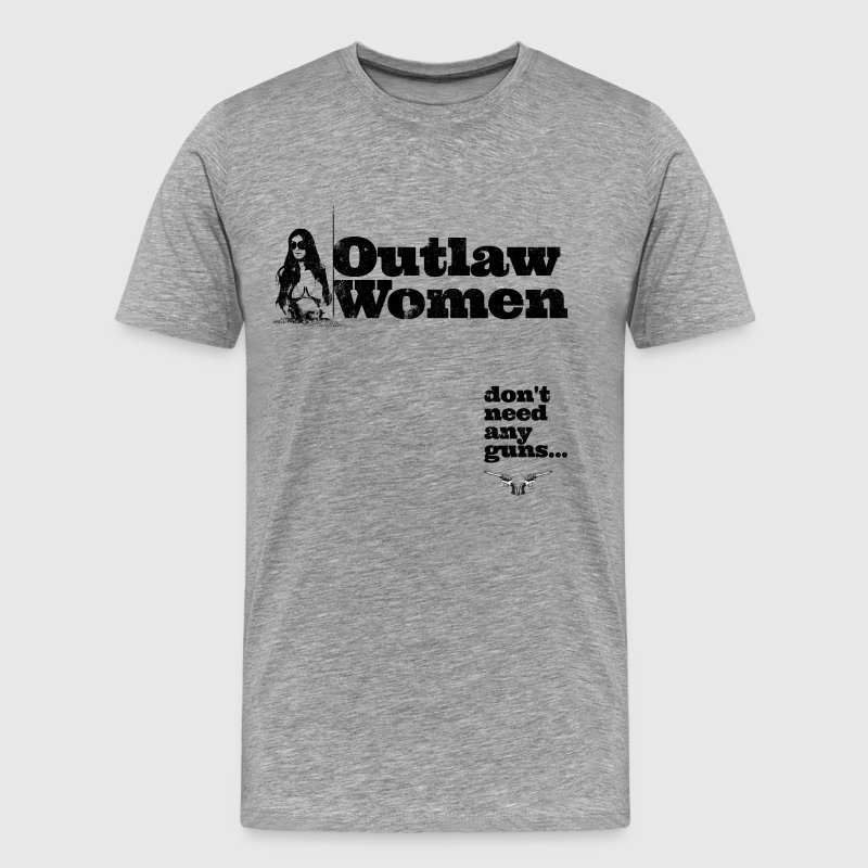 Outlaw Women - Men's Premium T-Shirt