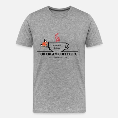 Fox Cream Coffee Company - Men's Premium T-Shirt